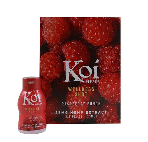 Koi Hemp Wellness Shot 25mg 12pack