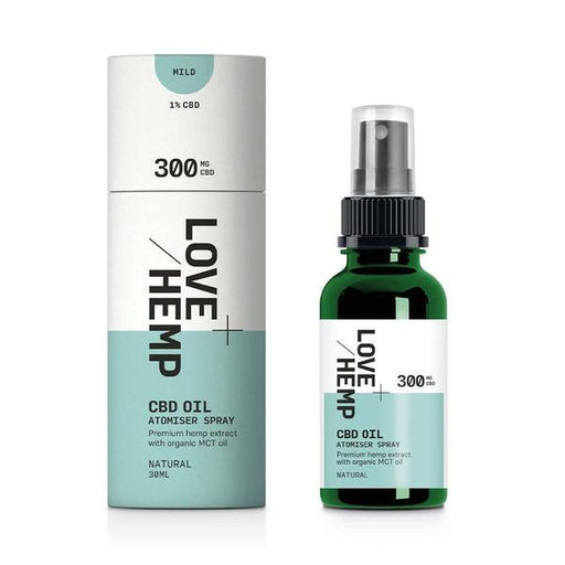 LOVE HEMP CBD Oil Atomiser Spray Natural 30ml