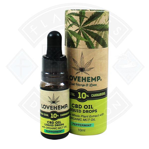 Love Hemp CBD Oil Peppermint 1000mg 10% 10ml