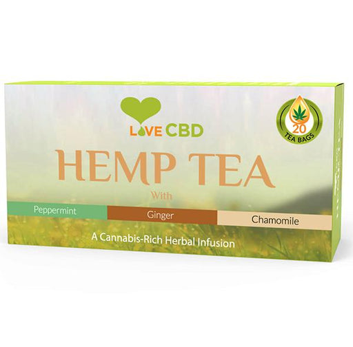 Love CBD Hemp Tea 20 bags 30g
