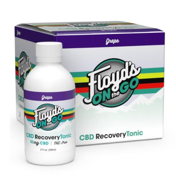 Floyd's On The Go CBD Recovery Tonic 50mg 59ml (6PACK)