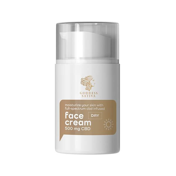 Goddess Sativa Face Cream 500mg 50ml