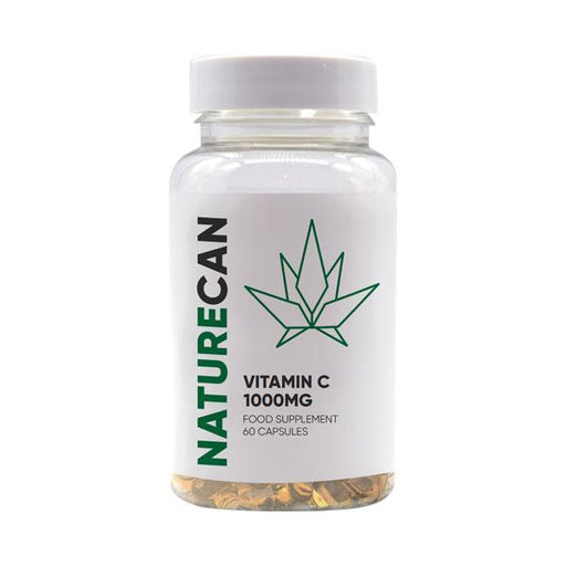 Naturecan Vitamin C Food Supplement 1000mg 60 capsules