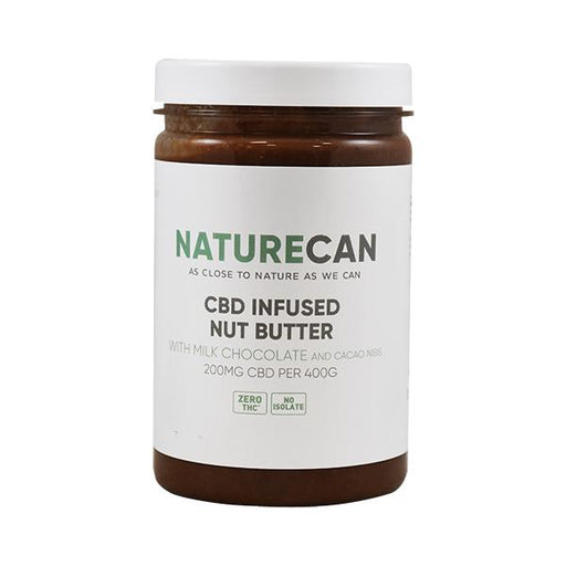 Naturecan CBD Infused Nut Butter 200mg 400g