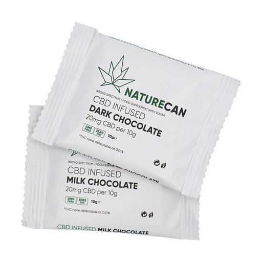 Naturecan CBD Infused Chocolate 20mg 10g