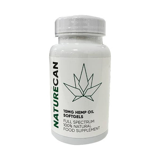 Naturcan CBD Full Spectrum 10mg Hemp Oil Softgels 30pcs
