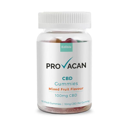 Provacan CBD Gummies Mixed Fruit Flavour 100mg 10pcs
