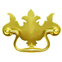 Chippendale Drawer Pulls originally used in the 18th century, becoming popular again during the Colonial Revival period
