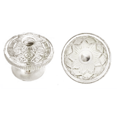 Large Glass Knobs were favored on Empire Furniture