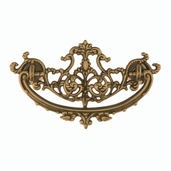 Victorian Drawer Pulls display detailed organic designs