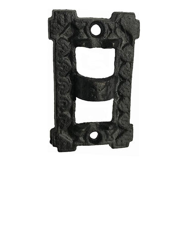 Cast Iron Wall Plate to support Bracket Lamp