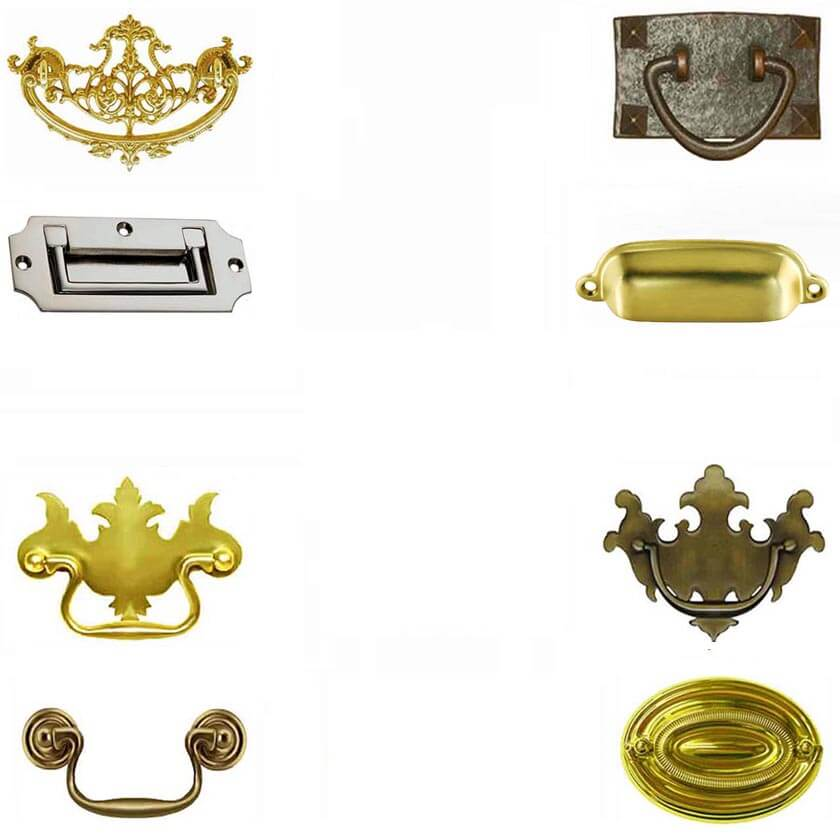 Vintage - Antique Drawer Pulls