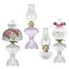 Antique Table Lamps in eye-catching colors, choose oil or electric