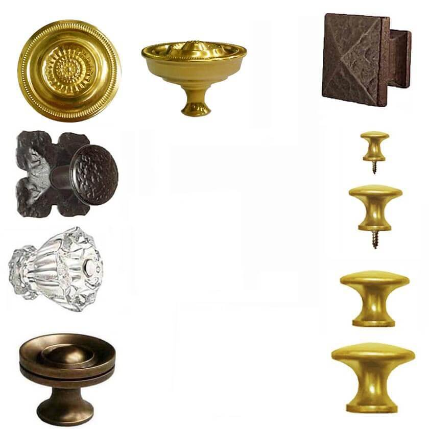 Knobs for Furniture - Cabinets