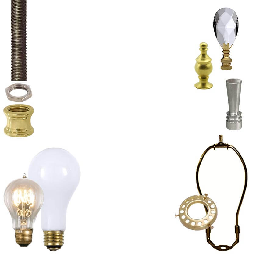Lamp Replacement Parts for Electric Lamps
