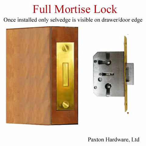 Full Mortise Lock installed