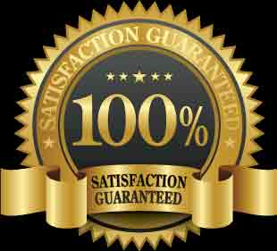 100% satisfaction guarantee - 60 days for returns