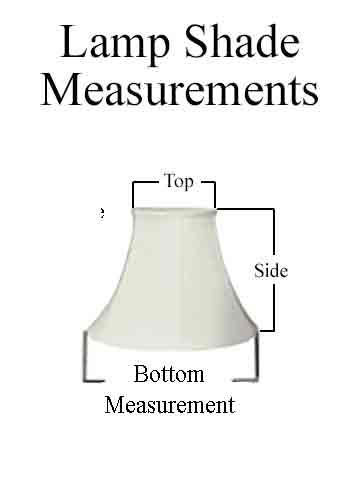 Measuring Lamp Shades