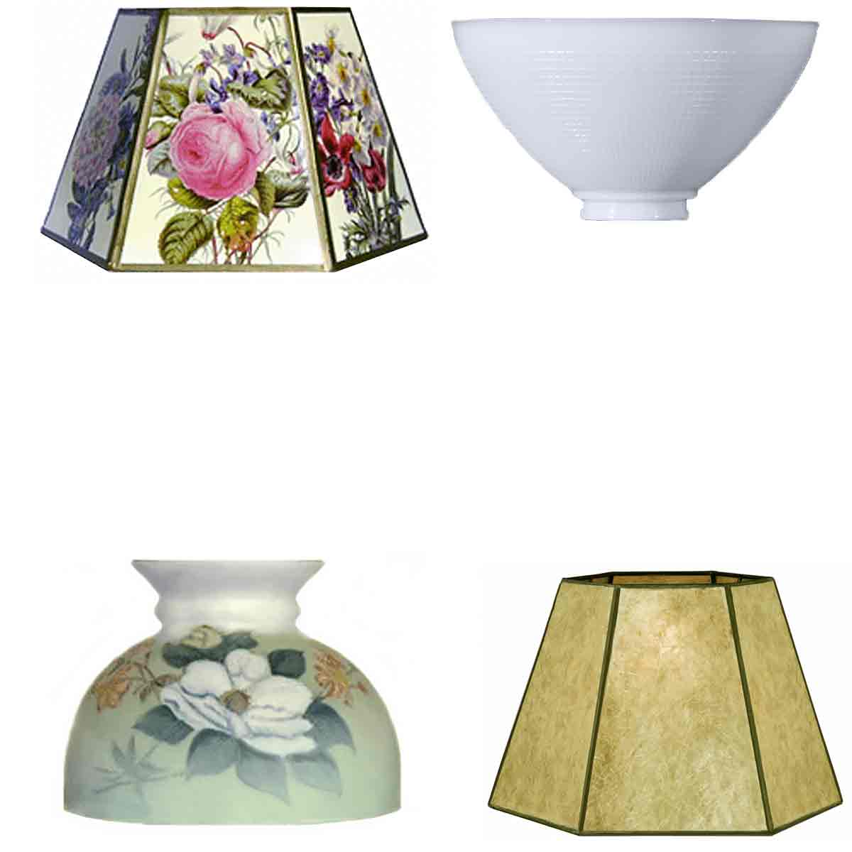 Replacement Lamp Shades for table and floor lamps