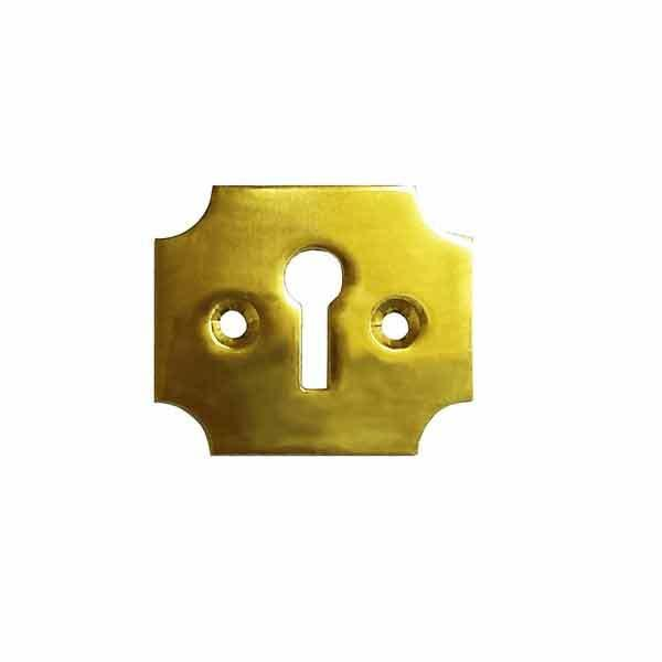 Furniture Keyhole Escutcheon, Campaign - paxton hardware ltd