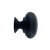 Black Cabinet Knobs, 3/4 inch - paxton hardware ltd