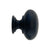 Black Cabinet Knobs, 1 inch - paxton hardware ltd