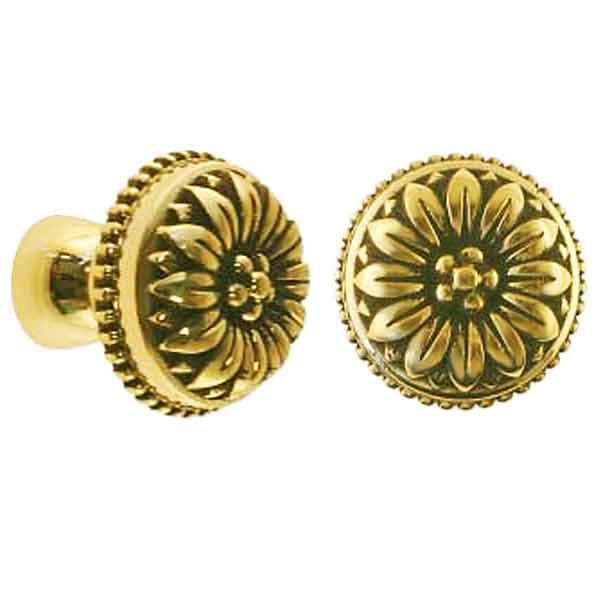 Floral Cabinet Knobs, generous - paxton hardware ltd