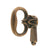 Brass Mock Keys in antique finish - paxton hardware ltd