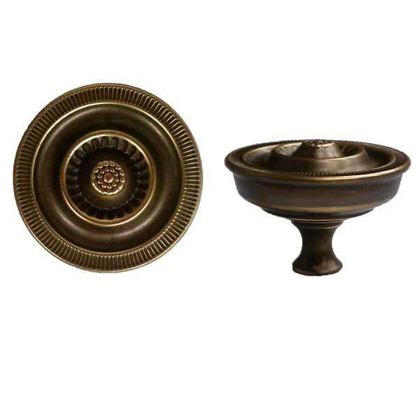 Antique Sheraton Furniture Knobs, medium - paxton hardware ltd