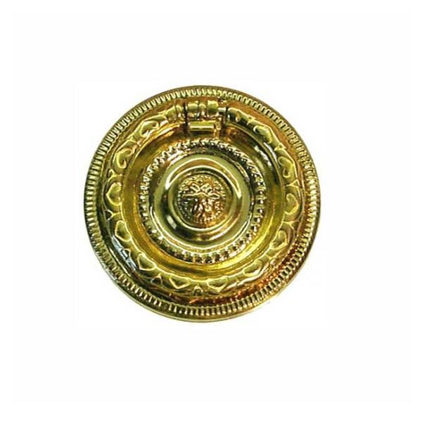 Brass Ring Pulls, 1-5/8 inch diameter - paxton hardware ltd