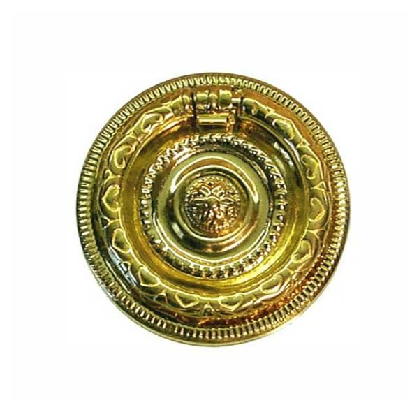 Brass Ring Pulls, 2 inch diameter - paxton hardware ltd