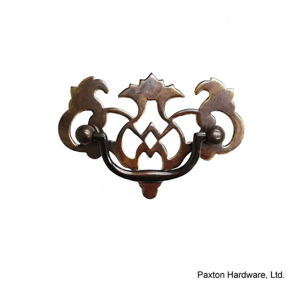 Antique Drawer Pulls, 2-1/4 inch, Open-work - paxton hardware ltd