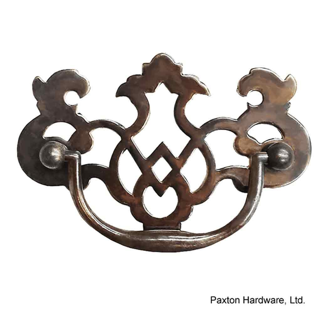 Antique Drawer Pulls, 3 inch, Open-work - paxton hardware ltd