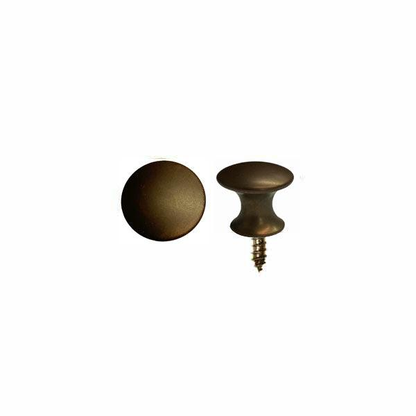 Small Antique Brass Knobs, 1/2""