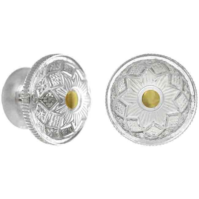 Pattern Glass Knobs - paxton hardware ltd