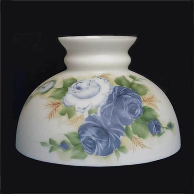 Blue Rose 10 inch Lamp Shades
