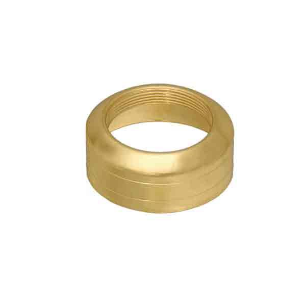Brass Lamp Collars to fit #1 Lamp Burners