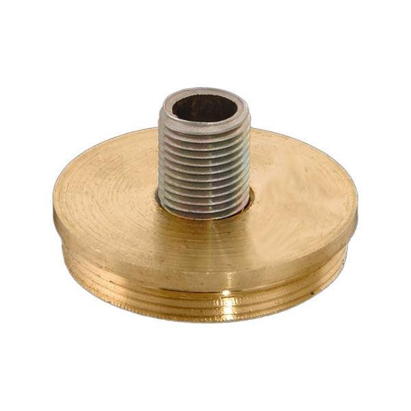 Brass Adapter, #2 - paxton hardware ltd