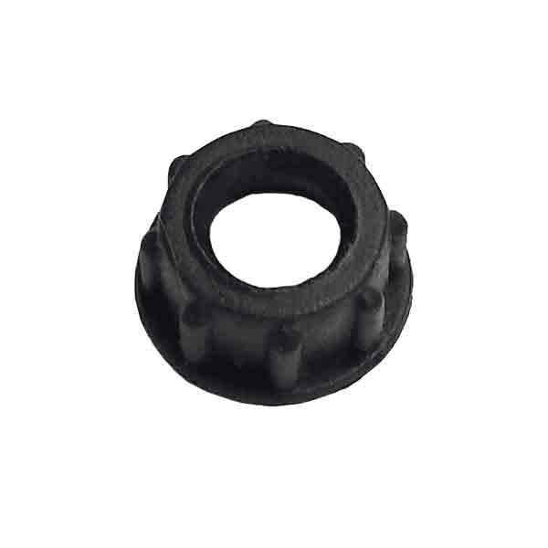Black Plastic Cord Bushing - paxton hardware ltd