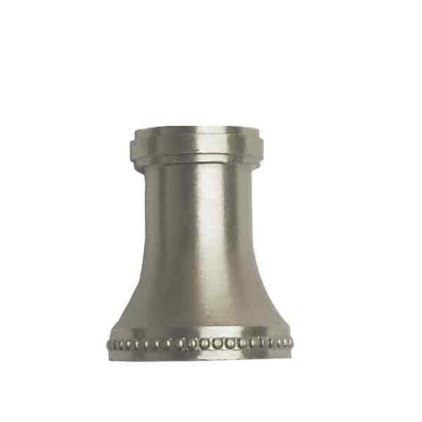 Nickel Lamp Spindles, 7/8 inch