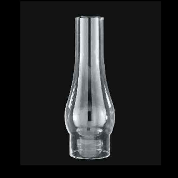 Standard Glass Lamp Chimney for #2 burners