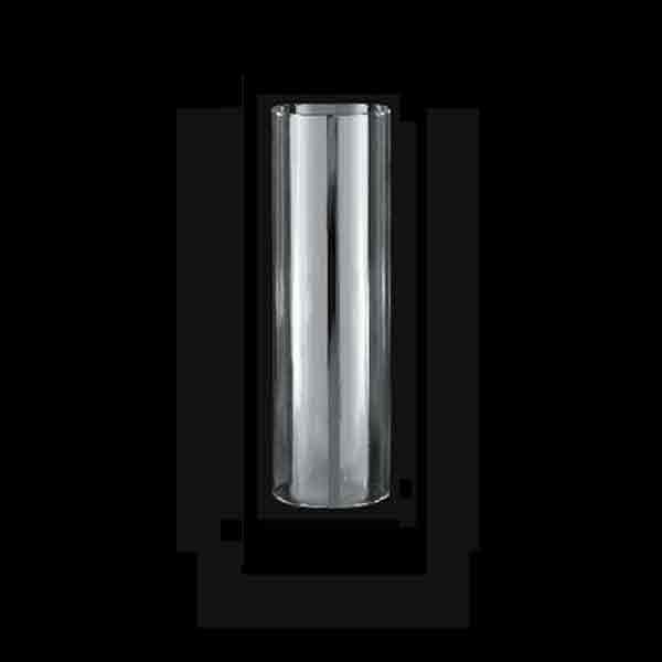 Clear Glass Cylinders, eight inch height