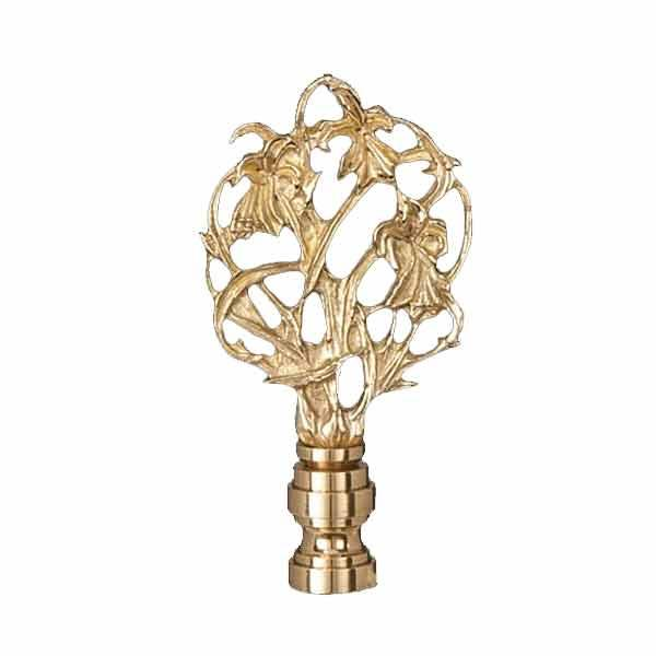 On the Vine Lamp Finial - paxton hardware ltd