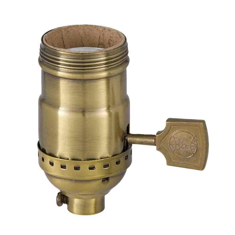 Turn Paddle Antique Lamp Sockets - paxton hardware ltd
