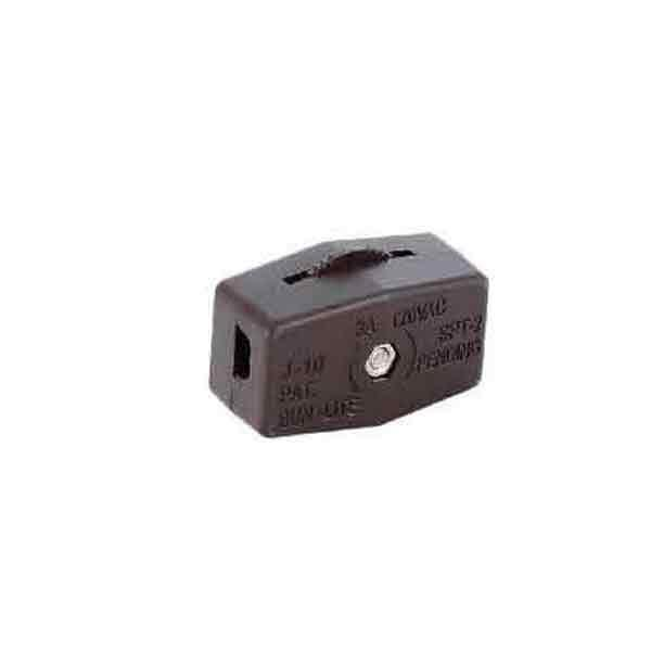 Brown Lamp In-line Cord Switches, SPT-2 - paxton hardware ltd