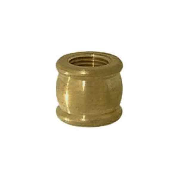 Brass Lamp Couplings, 1/8IPF x 1/4IPF - paxton hardware ltd