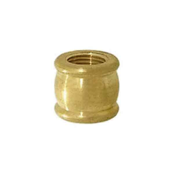 Brass Lamp Couplings, 1/4IPF x 1/4IPF - paxton hardware ltd