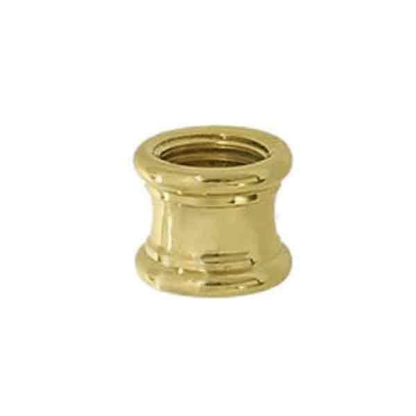 Brass Lamp Couplings, 1/8IP x 1/4IP - paxton hardware ltd