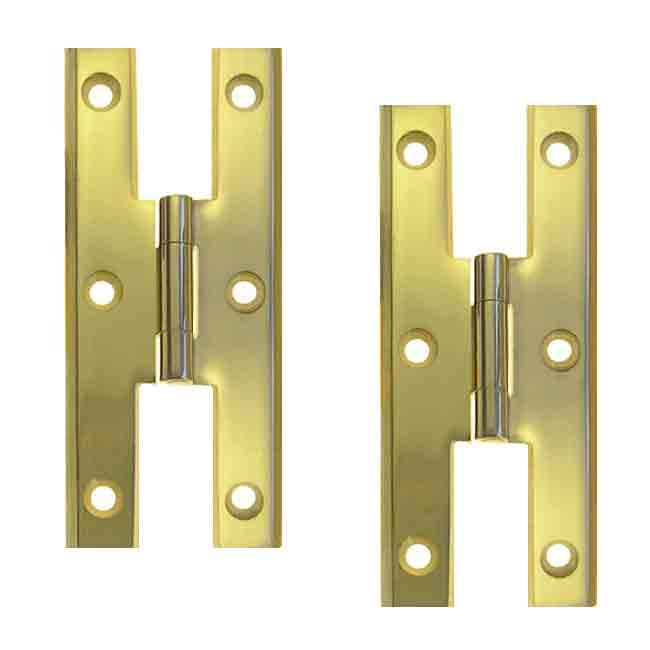 Colonial H Hinges, Brass - paxton hardware ltd