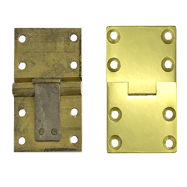 Butler Tray Hinges, Square Ends - paxton hardware ltd